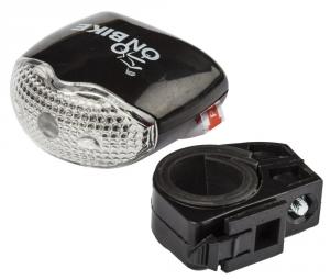 ONBIKE Fanalino anteriore 3 led - 2 funzioni Ciclismo 07000000000002687