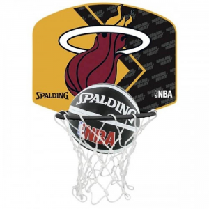 Spalding Basket Miniball Miami Heat Basket Equipment Basket Sp477590z