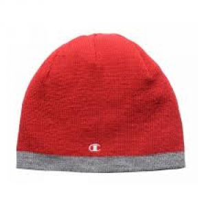 Champion Cap Reversible Red Grey