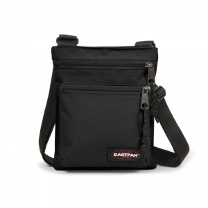 Eastpak Stock Exchange Shoulder Strap Rusher Black - Bags Casual