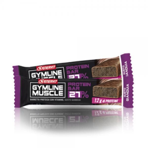 ENERVIT Barretta Gymline Muscle Protein Bar 27% Gianduia Fitness 92684 GIANDUIA