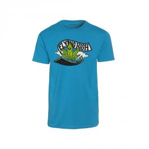 Volcom T-shirt Flying High T.shirt m / m vêtements snowboard A3511553-ATL