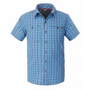 North Face Shirt Man Gilgit Manica Short Shirts M / M Trekking T0a3s5 Z9f