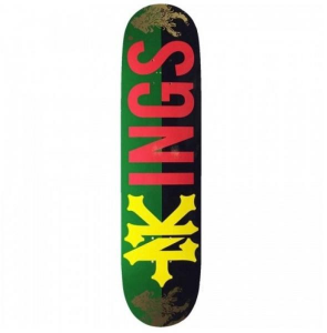 ZOO YORK Tavola da skate Drop King Rasta 8'' Deck Attrezzatura Skateboard ZOO172