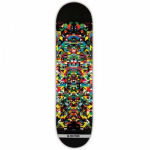 ZOO YORK Tavola da skate Deck Zy x Xy Natural 8.12 Deck Skateboard ZOO162