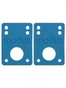 MODUS MODUS Riser Pads Azul 1/8 '' Vario Equipamiento Skateboard MOD011