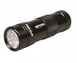 Spro Flashlight With 12 Led Uv Flash Splc95uv Black - Lamps Fishing