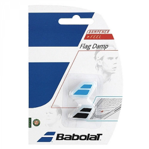 BABOLAT Antivibrante Flag Dump x2 Racchetta Attrezzatura Tennis 700032-145