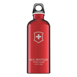 Victorinox Bottle Swiss Emblem Red 0.6 Lt Vario Trekking Yes Sc60.01