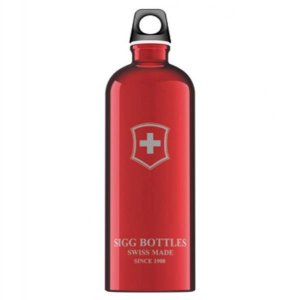 Victorinox Bottle Swiss Emblem Red 1 Lt Vario Trekking Yes Sc100.01