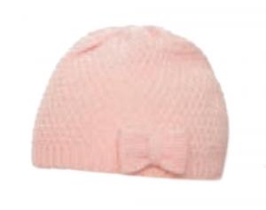 MARINI SILVANO Berretto bimba con fiocco Cappelli Accessori Casual 60302115