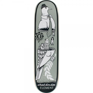 ELEMENT Tavola Skateboard Deck Tim Tim Zipper 8.12 Deck Skateboard 127534