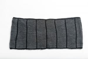 CHAMPION Sciarpa Donna Anello nero grigio
