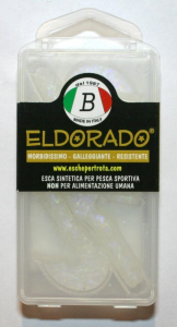 COMES Artificiale Falcetto Eldorado bianco - Esche artificiali pesca