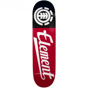 'ELEMENT Script Deck 8.25'' nero rosso - Deck skateboard'