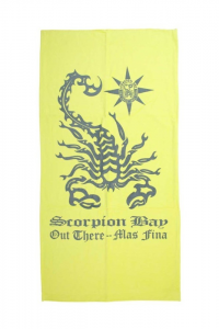 Scorpion Bay Sheet Sea Scorpio Yellow Grey - Sheet Sea