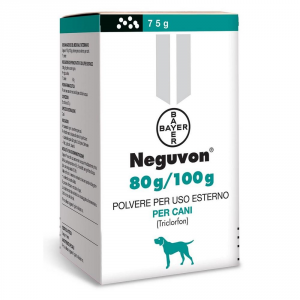 BAYER Pet Care Antiparassitario Per Cane Neguvon Bayer Grammi 75