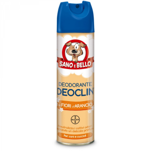 Sano E Bello Deodorant Assorbiodore For Deoclin Ml Dog 250 Dog Hygiene Toilette