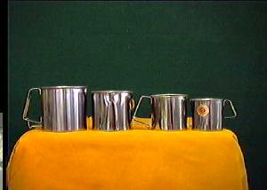 ASTESANI Set 6 Pignatti Einfach Stahl Edelstahl Cm 14 Kochtopf