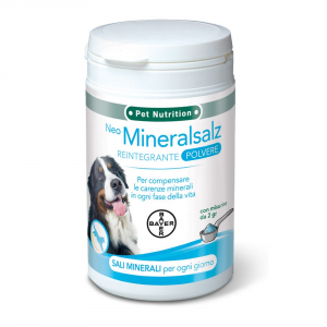 Bayer Pet Nutrition Dog Supplement Mineralsalz Healthy & Beautiful Gr 300