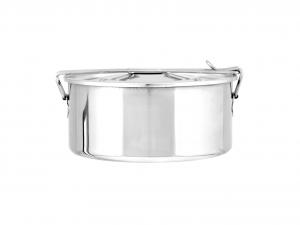 ASTESANI Scatola vivande acciaio inox simplex cm 12 Contenitori cucina barattoli