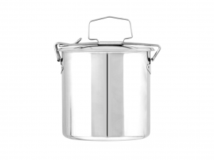 ASTESANI Food box Oval Steel Stainless steel Container Kitchen