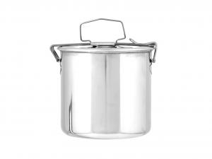 ASTESANI Portavivande tondo acciaio inox cm12 Contenitori cucina barattoli