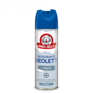 Sano E Bello Deodorizing Talc Deolett Ml.200 - Hygiene Toilette For Dogs