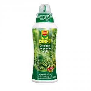 COMPO Concime liquido per piante verdi 1lt Piante orto giardino concimi liquidi