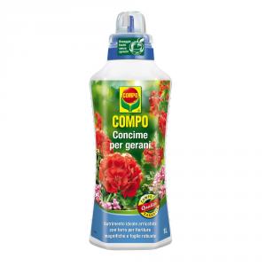 COMPO Concime liquido per gerani 1lt - Piante orto giardino concimi liquidi