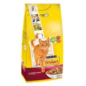 Friskies Adult With Dried Beef Chicken And Vegetables 2 Kg Cat Cat Dry Food