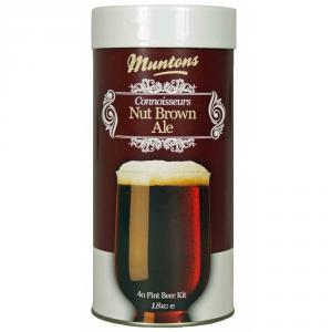 MUNTONS Malto amaricato muntons conn. range nut brown ale kg. 1,8