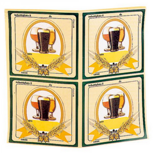 Ferrari Adhesive Labels For Beer 100 Pz - Beer Accessories