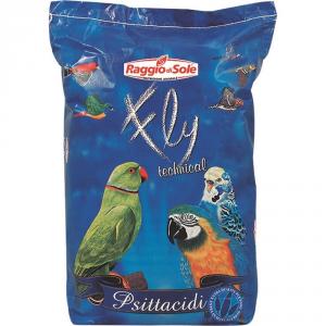 RAGGIO DI SOLE Pappagalli Fruits Kg. 15 Alimento Per Uccelli