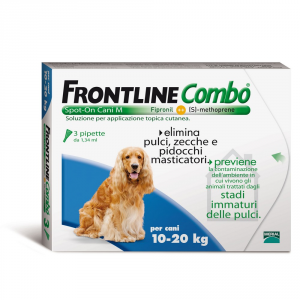 Frontline Combo For Dogs 10-20kg - Dog Insecticidal