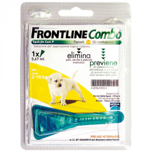 Frontline Combo For 2-10kg Dog Puppies - Dog Insecticidal