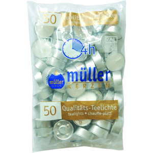 Muller Pack Warmer Pack 50 Pieces - Candles