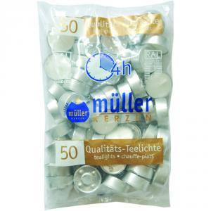 MULLER Confezione scaldavivande confezione 50 pezzi - Candele