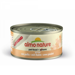 ALMO NATURE Legend con pollo per gattini umido gatto gr. 70