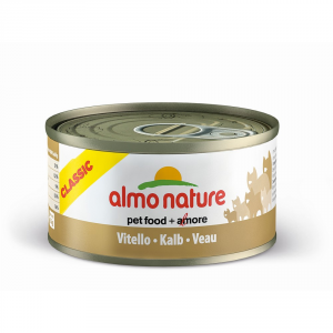 Almo Nature Classic Wet Calf Cat Gr 70 - Cats Wet Feed