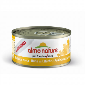 Almo Nature Legend Chicken And Stewed Pumpkin Cat Gr 70 - Cats Wet Feed