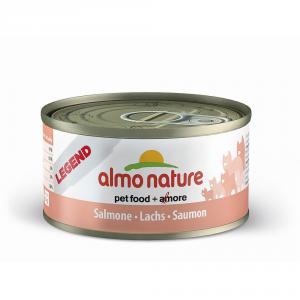 ALMO NATURE Legend salmone umido gatto gr. 70 - Mangimi umidi per gatti