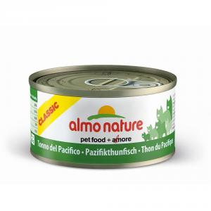 ALMO NATURE Classic Tonno Pacifico Umido Gatto Grammi 70 Articoli Per Animali