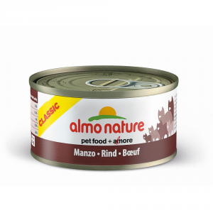 ALMO NATURE Classic beef stewed cat gr 70 - Cats wet feed