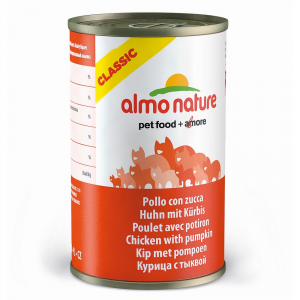 Almo Nature Classic Chicken And Stewed Pumpkin Cat 140 Gr Cat Wet Food