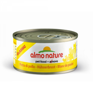 ALMO NATURE Classic moist chicken breast cat gr 70 - Cats wet feed