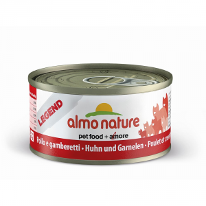 Almo Nature Legend Chicken And Shrimp Moist Cat Gr 70 - Cats Wet Feed