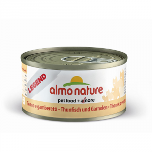 Almo Nature Legend Tuna And Shrimp Moist Cat Gr 70 - Cats Wet Feed