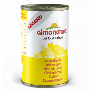 ALMO NATURE Legend of moist chicken breast 140 gr cat - Cats wet feed
