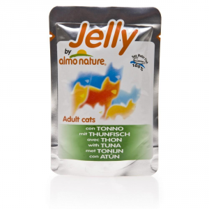 Set 24 ALMO NATURE Jelly Tuna in jelly Cat gr 70 - Fodder Wet For cats
